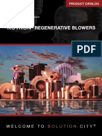 Rotron Regenerative Blowers