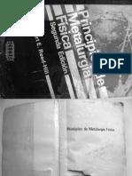 Principios de Metalurgia Física - Autor Robert E. Reed-Hill