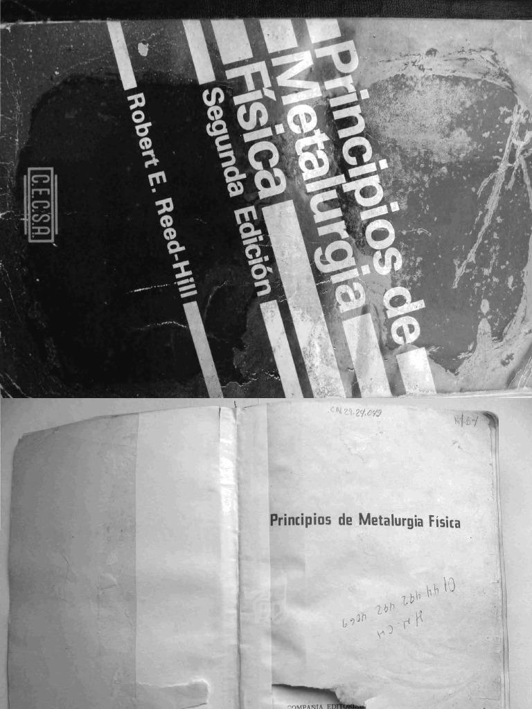 Principios de Metalurgia Física - Autor Robert E. Reed-Hill ed578079376b