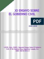 Segundo Ensayo Sobre El Gobierno Civil