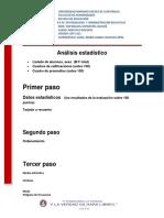 Análisis Estadístico Pedro