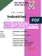 Proyecto de Ing Economica