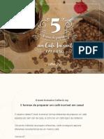 eBook Como Fazer Cafe