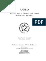 AAVSO SpanishManual