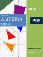 Apuntes de Algebra Lineal - Vladimir Acori Flores