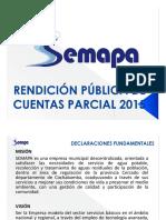 Rendicion de Cuentas Semapa 2015