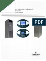 Liebert Challenger 3000challenger Itr With Liebert Icom Operations Manual
