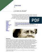 VIEIRA, MA - Licoes Da Psicose Ia Estamira PDF 1