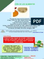 Conservacion de Alimentos