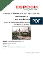 Aplicaciones Termodinamicas en El Area Petrolera Acosta c