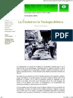 Breneman, La Ciudad en La Teologia Biblica
