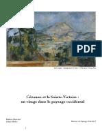 Cézanne et la Sainte Victoire
