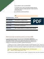Formato APA Te Ayuda a Ubicar en El Informe Los Datos Con Mucha Facilidad