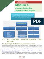 PARCIAL 1 Derecho Administrativo