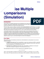 Pair-Wise Multiple Comparisons (Simulation)