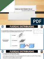 FUERZAS DISTRIBUIDAS LINEALES
