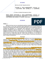 19. Poe Llamanzares v. Commission on Elections
