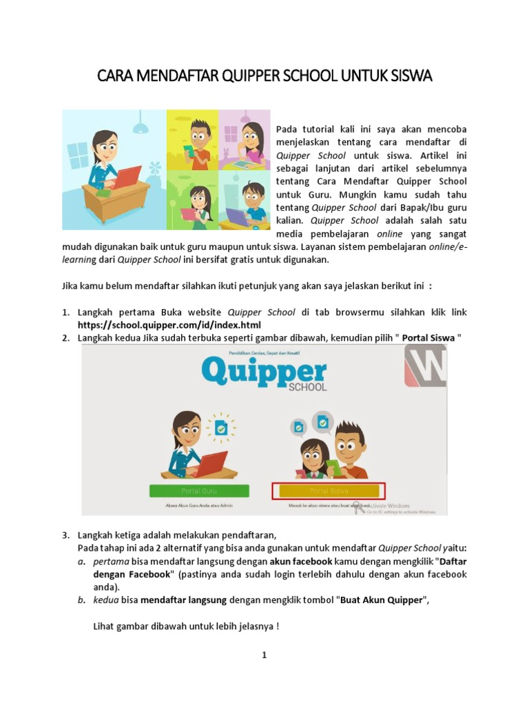 quipper learn school