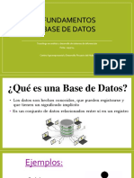 Base de Datos Modelo Relacional