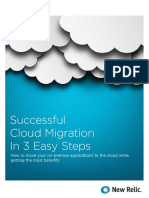 Successful Cloud Migration in 3 Easy Steps - 2016 New Relic