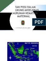 Ari Kusuma - Peran POGI Dalam Mendukung Akselerasi Penurunan Kematian Maternal