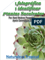Guía Fotográfica Para Identificar Plantas Suculentas