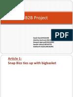 B2B Project