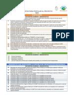 Requisitos Para Postular al Proyecto SIES