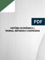 Livro 5. História Econômica I - Teorias Métodos e Conteúdos