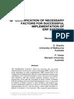 ERP Identification