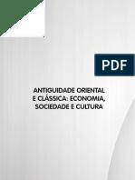 Livro 7. Antigüidade Oriental e Clássica - Economia Sociedade e Cultura