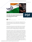 The Role of Coal in Shaping India the Emerging World Power _ HARILAL S.pdf