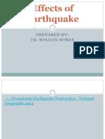Effects of Earthquake