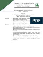 9.1.1.Ep 2 SK Penetapan Indikator Mutu Kinerja Klinis