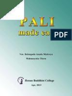 Pali Made Easy