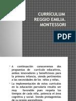 Currículum Reggio Emilia