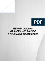 Livro 10. História Das Idéias - Viajantes Naturalistas e Ciências Na Modernidade