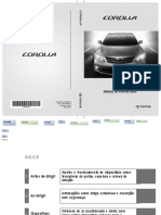 MANUAL TOYOTA COROLLA 2010
