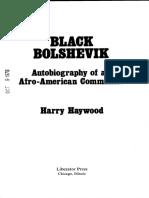 Harry Haywood Black Bolshevik