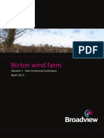 Bicton Wind Farm NTS April 2013