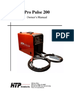Pro Pulse 200 Manual