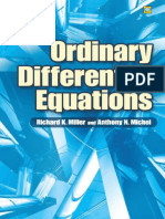Michel Miller Ordinary Differential Equations
