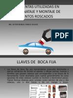 Herramientas Utilizadas en El Desmonataje y Montaje De motor