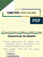 Clase 6. Cristalografía-Simetría Cristalina