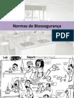Aula 2. Normas de Biossegurança_Célula- Unidade Estrutural Da Vida
