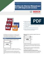 Data Sheet Bosh Acionador Alarme FMC‑420RW