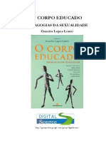 LOUROGuacira L. O Corpo Educado Pedagogias Da Sexualidade