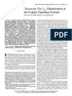Binary Symbol Recovery Via Minimization in FTN signaling system.pdf