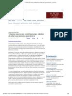 ConJur - Tributos São Meios Constitucionais Válidos de Intervencionismo Econômico