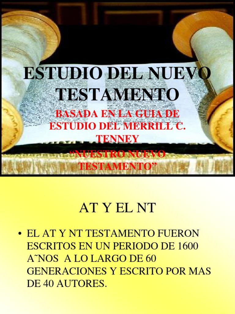 Nuestro Nuevo Testamento Merrill C.tenney Pdf Download